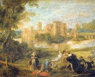 Castle Garden — Питер Пауль Рубенс