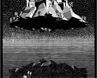 Castle in the Air — Мауриц Корнелис Эшер