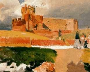 Castle of La Mota, Medina del Campo — Хоакин Соролья