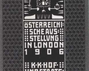 Catalogue of the Austrian Exhibition in London — Коломан Мозер