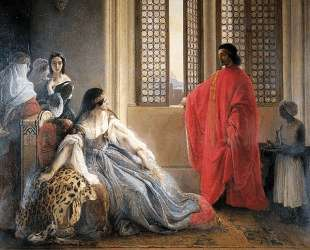 Caterina Cornaro Deposed from the Throne of Cyprus — Франческо Хайес