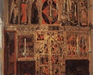 Благовещенский собор. Придел собора Пресвятой Богородицы в главе. — Василий Поленов