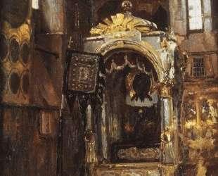 Успенский собор. Рака митрополита Ионы. — Василий Поленов