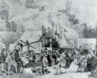 Праздник в окрестностях Парижа — Василий Перов