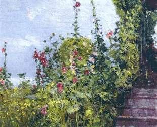 Celia Thaxter's Garden, Appledore, Isles of Shoals — Чайльд Гассам