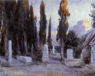 Cemetery — Василий Поленов