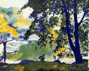 Central Park — Томас Гарт Бентон