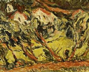 Ceret Landscape — Хаим Сутин