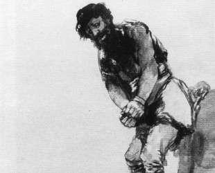 Chained Prisoner — Франсиско де Гойя