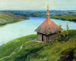 Часовня на берегу Оки — Василий Поленов