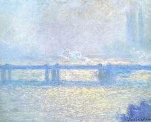 Мост Чаринг-Кросс, пасмурная погода — Клод Моне