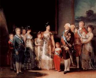 Charles IV of Spain and his family — Франсиско де Гойя