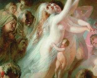 Харон перевозит души умерших через реку Стикс — Константин Маковский