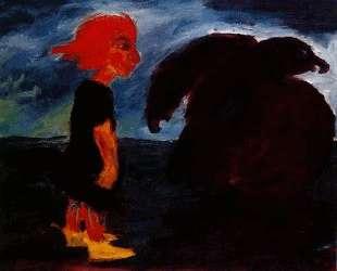 Child and Large Bird — Эмиль Нольде