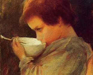 Ребенок пьет молоко — Мэри Кассат