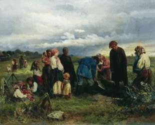 Похороны ребенка — Константин Маковский