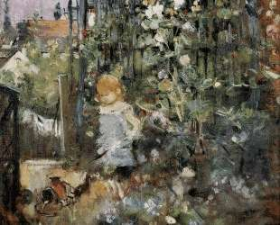 Child in the Rose Garden — Берта Моризо