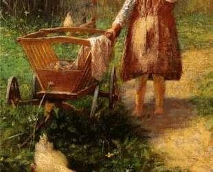 Child with Cart — Георгиос Яковидис