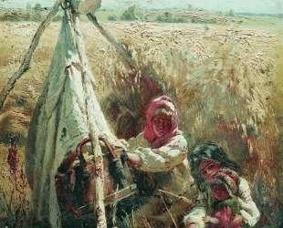 Дети в поле — Константин Маковский