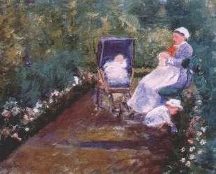 Дети в саду — Мэри Кассат