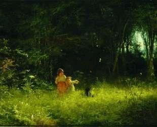 Дети в лесу — Иван Крамской