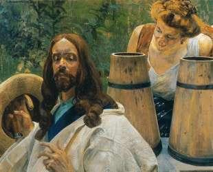 Christ and Samaritan Woman — Яцек Мальчевский