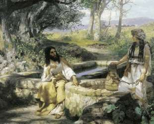 Christ and the Samaritan Woman — Генрих Семирадский