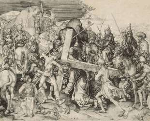 Christ bearing his cross — Мартин Шонгауэр