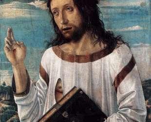 Благословение Христово — Джованни Беллини