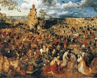 Христос несущий крест — Питер Брейгель Старший