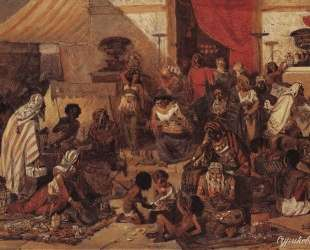 Изгнание Христом торгующих из храма — Василий Суриков