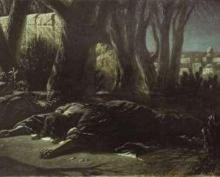 Христос в Гефсиманском саду — Василий Перов