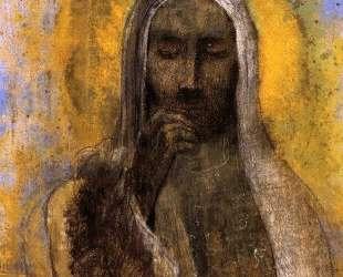 Christ in Silence — Одилон Редон