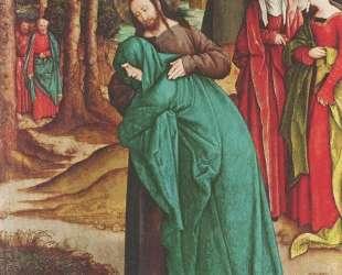 Christ Taking Leave of His Mother — Бернхард Штригель