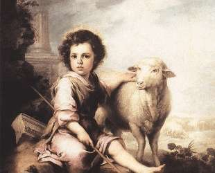 Christ the Good Shepherd — Бартоломе Эстебан Мурильо