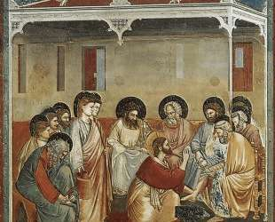 Christ Washing the Disciples' Feet — Джотто