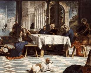 Christ Washing the Feet of His Disciples — Тинторетто
