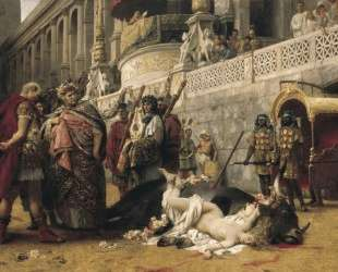 Christian Dirce — Генрих Семирадский