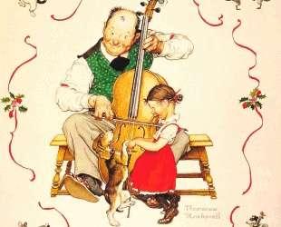 Christmas Dance — Норман Роквелл