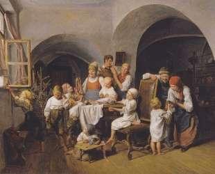Christmas morning — Фердинанд Георг Вальдмюллер