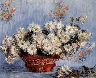 Хризантемы — Клод Моне