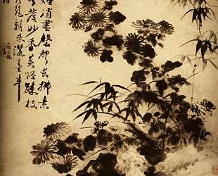 Chrysanthemums and bamboo — Шитао