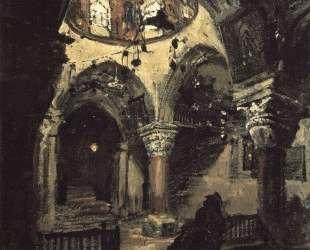 Церковь Святой Елены. Придел храма Гроба Господня. — Василий Поленов