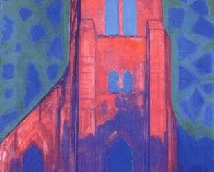 Церковная башня в Домбурге — Пит Мондриан