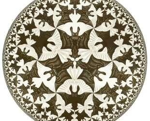 Circle Limit IV — Мауриц Корнелис Эшер