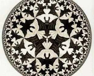 Circle Limit IV Colour — Мауриц Корнелис Эшер