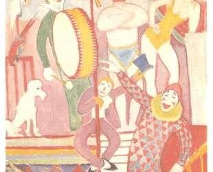 Цирк — Давид Бурлюк