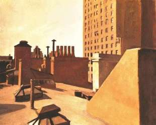 City Roofs — Эдвард Хоппер