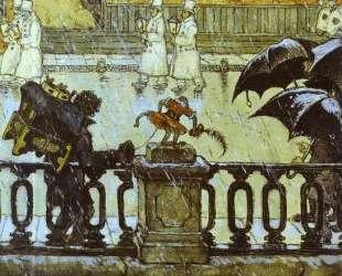 City Types (City Grimaces) — Мстислав Добужинский
