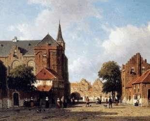 City view — Иохан Хендрик Вейсенбрух